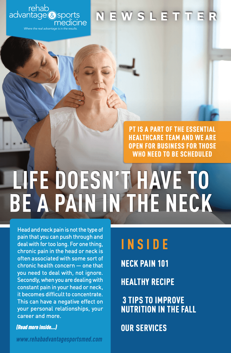 Life Doesn't Have To Be A Pain In the Neck
